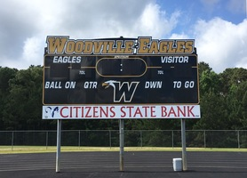 Woodville ISD Gets a New Scoreboard