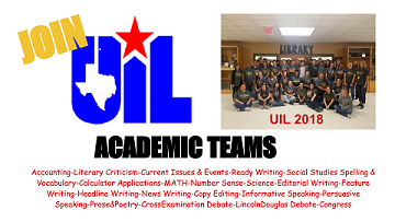 Be A Winner-Join UIL!!
