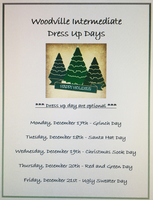 Woodville Intermediate Dress up Days!