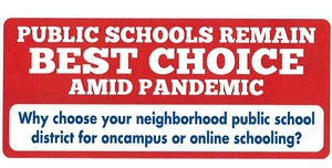 Public Schools Remain Best Choice Amid Pandemic