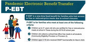 Pandemic Electronic Benefit Transfer