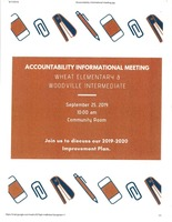 Accountability Meeting for ES-IS