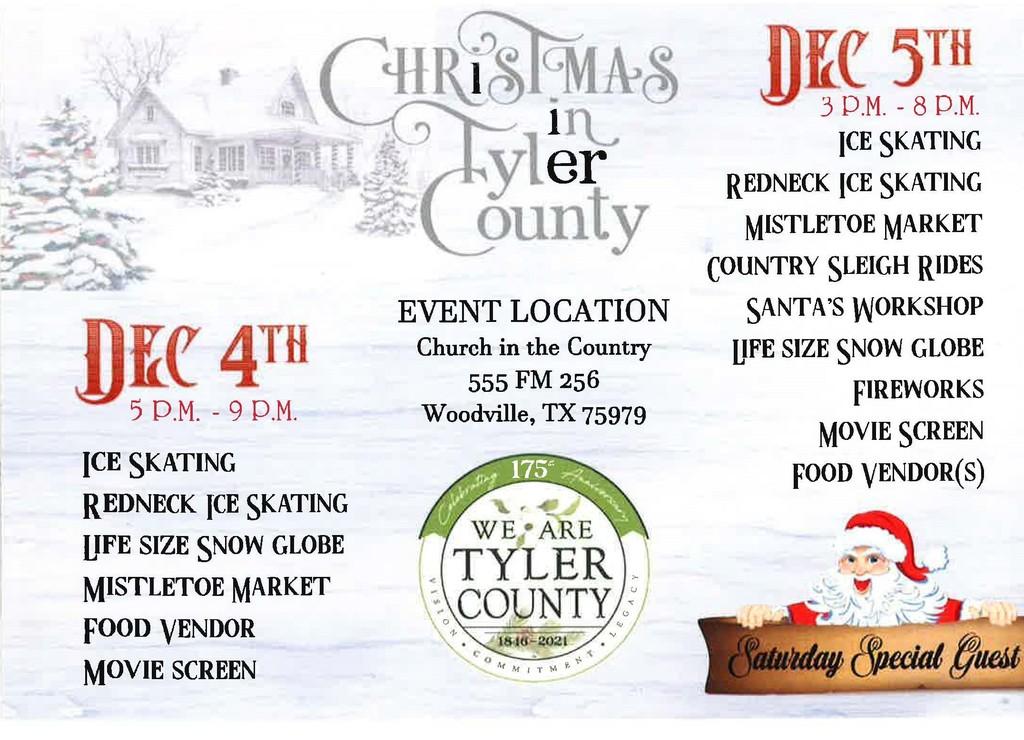 Christmas in Tyler County - Details