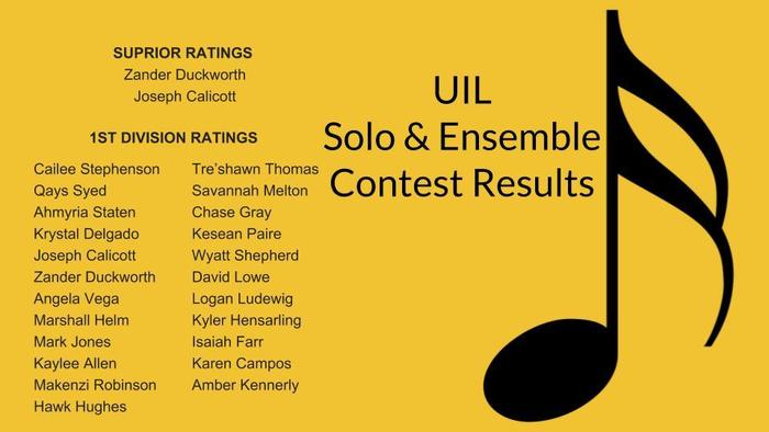 Solo & Ensemble