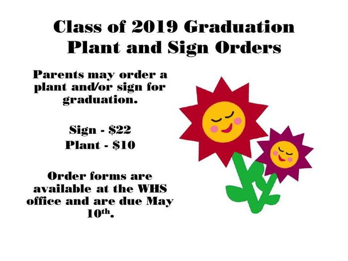 Sign and Plant Orders