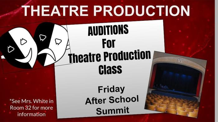 Theatre Production Auditions