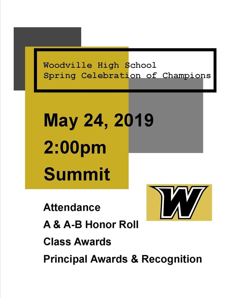 Spring Celebration of Champions
