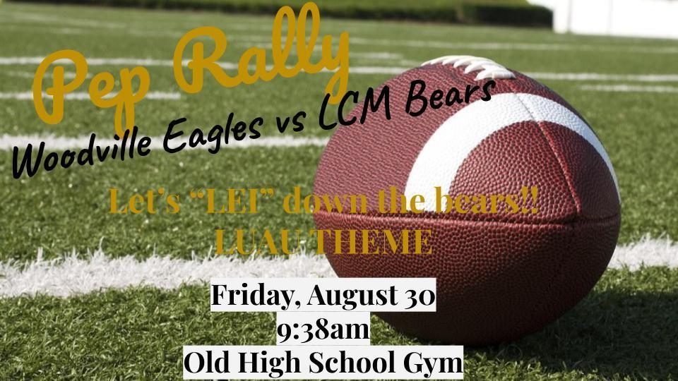Pep Rally Aug. 30