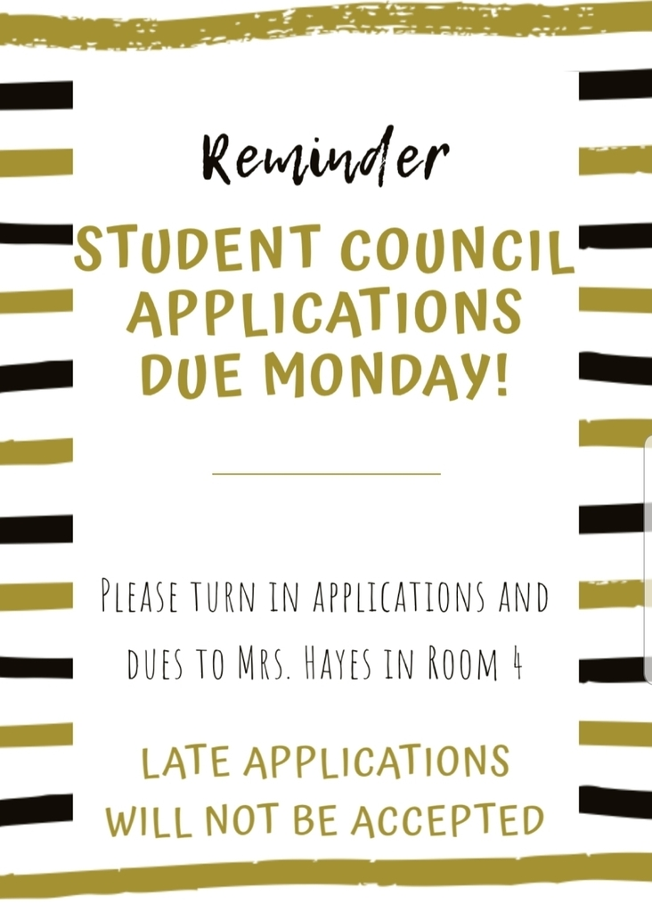 STUCO Applications Due