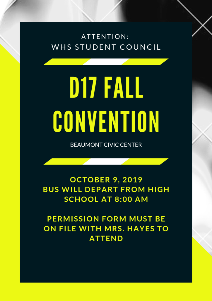 STUCO Fall Convention