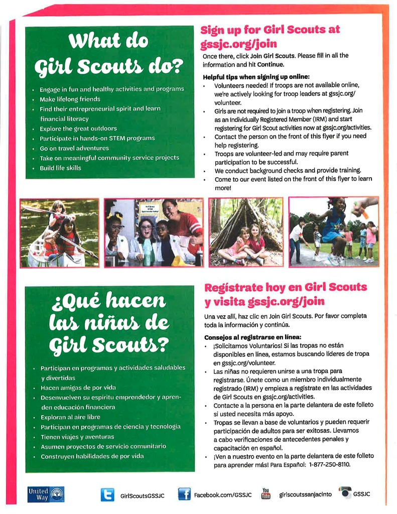 Girl Scouts Information