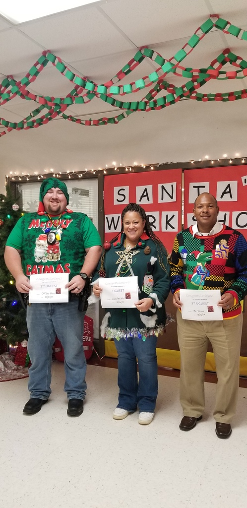 Ugle Sweater Contest Winners!!