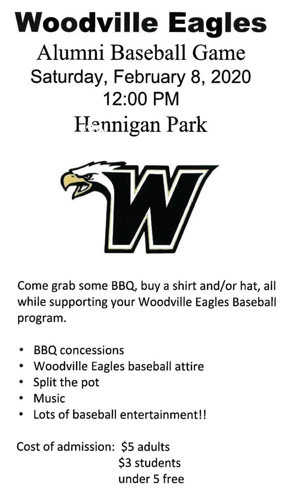 Alumni Baseball Game Information