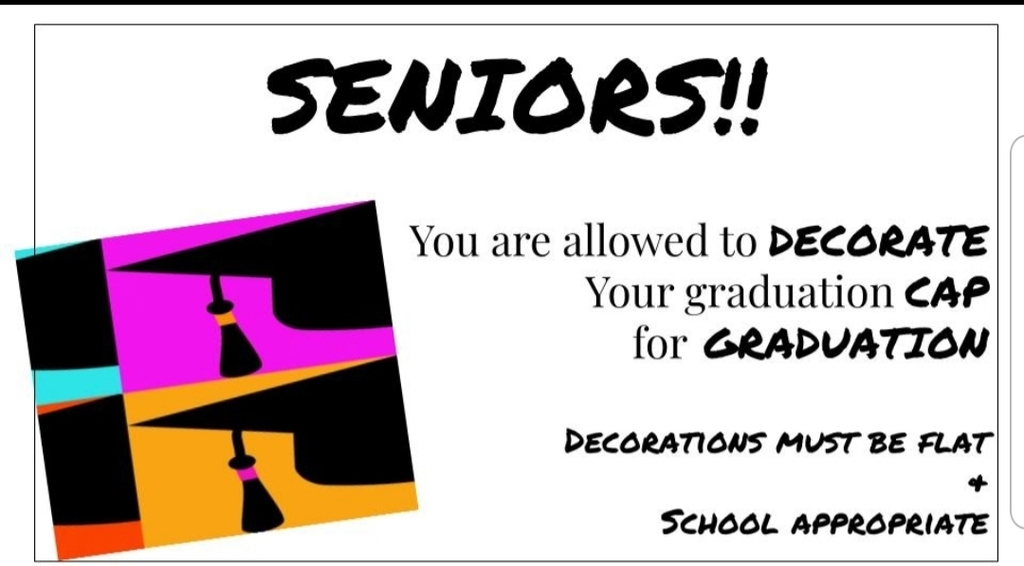Decorate Your Graduation Cap!