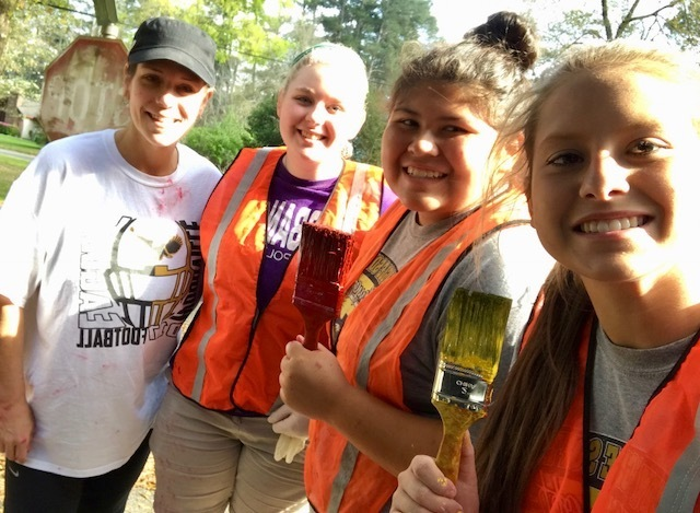 WHS Clean Up Tyler County