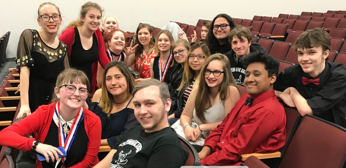 One Act Play Competes at Bi-District Competition