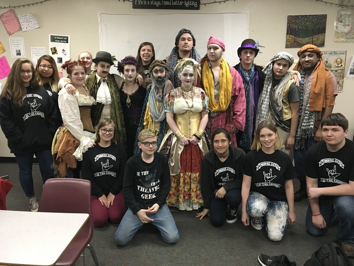 One Act Play Advances to Area Competition